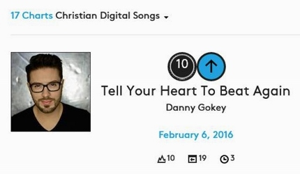 Danny Gokey Billboard Digital 2 6 16