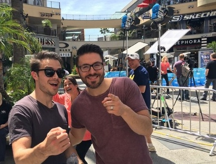 Danny Gokey, Kris Allen in Hollywood for the Finale!