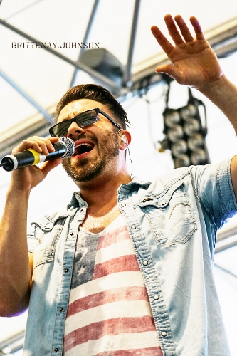 Danny Gokey at Three Rivers Festival