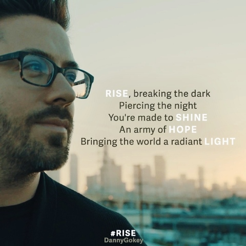 Danny Gokey Rise Lyric Quote