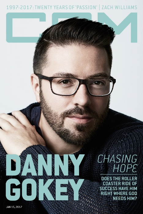 Danny Gokey on cover CCM Magazine