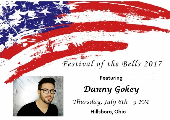 Danny Gokey to perform in Hillsboro Ohio