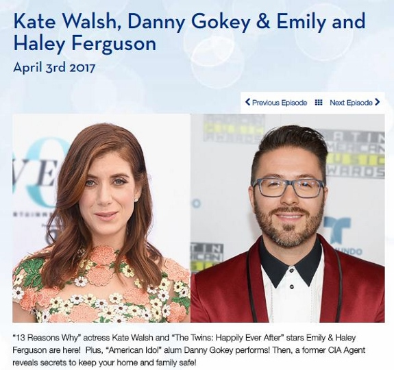 Danny Gokey appears on Harry TV