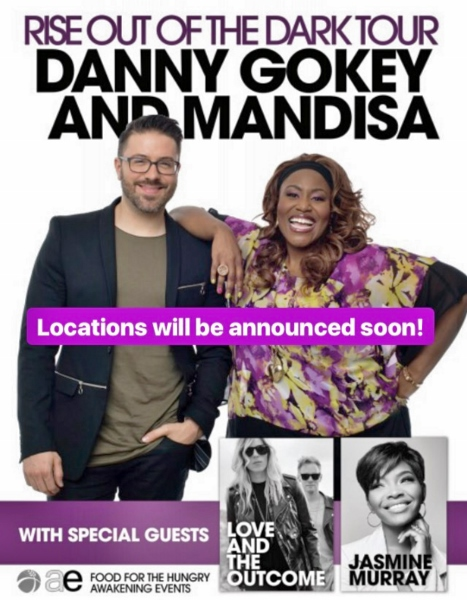Danny Gokey and Mandisa Tour announcement
