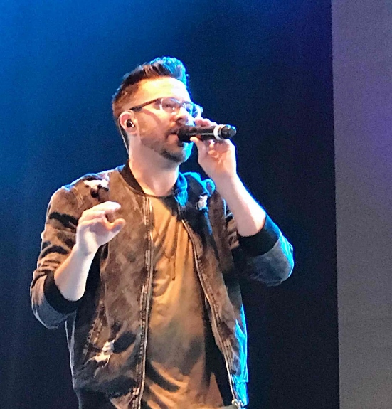 Danny Gokey performs at Celebrate Freedom Festival