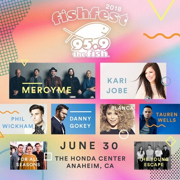 Fishfest artists 2018